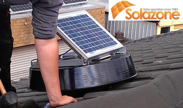 máy làm mát không khí bằng năng lượng mặt trời solazone