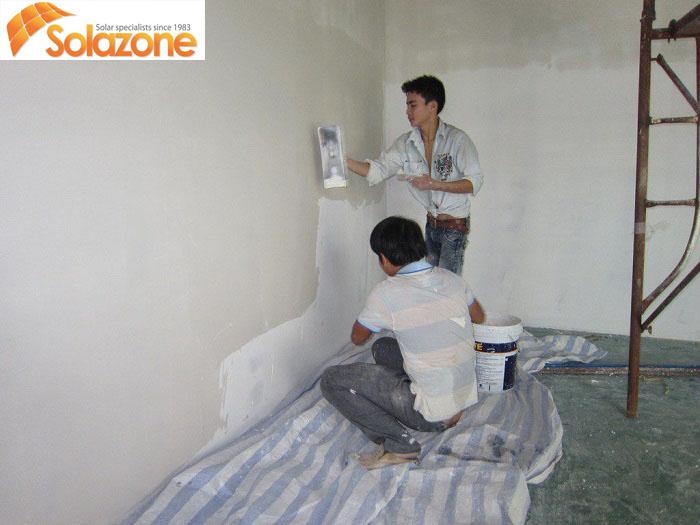 Cần chống ẩm cho tường nhà