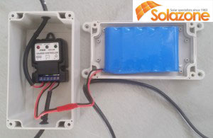 pin hỗ trợ máy làm mát không khí Solazone