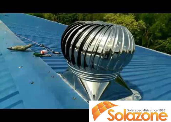 Lắp đặt quả cầu thông gió cho mái nhà hiệu quả khá cao