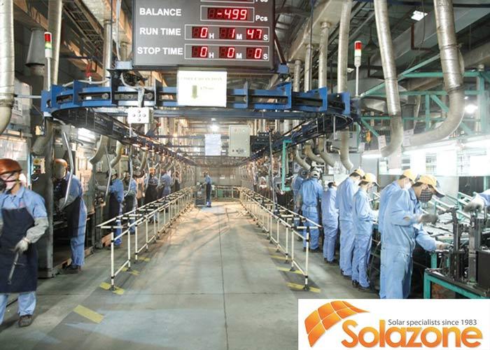 Nhà xưởng thường có nhiều máy móc nếu nóng quá rất dễ bị cháy nổ