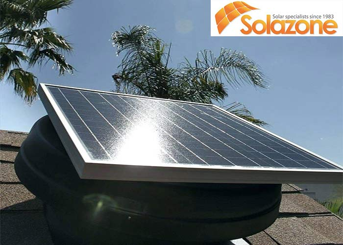 Solazone hoạt động dựa vào tấm năng lượng hiệu suất cao để háp thụ nhiệt